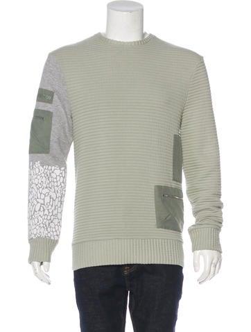 Tim Coppens Ribbed Crew Neck Sweatshirt None