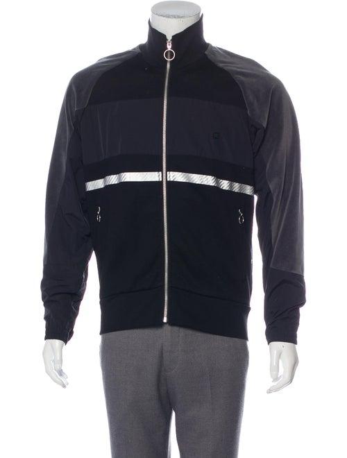 Tim Coppens Velvet Trim Track Jacket black