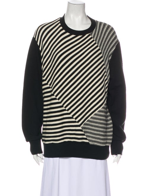 Christopher Raeburn Striped Crew Neck Sweatshirt B