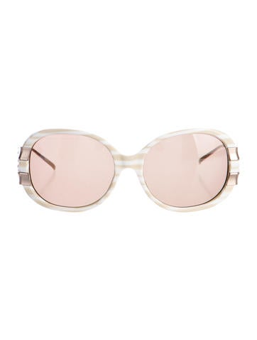Christian Roth Oversize Tinted Sunglasses