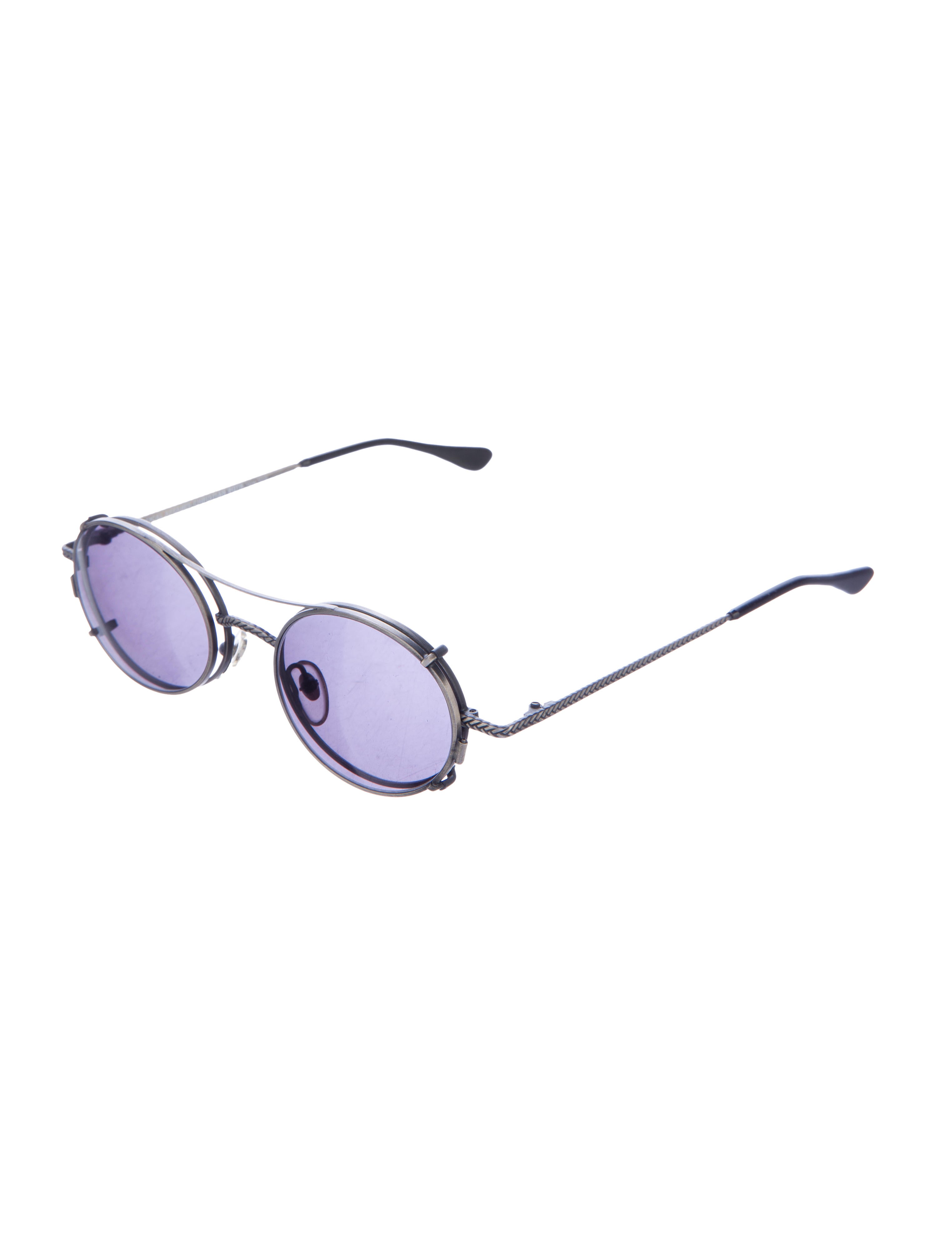 christian roth eyeglasses with 4 prong clip