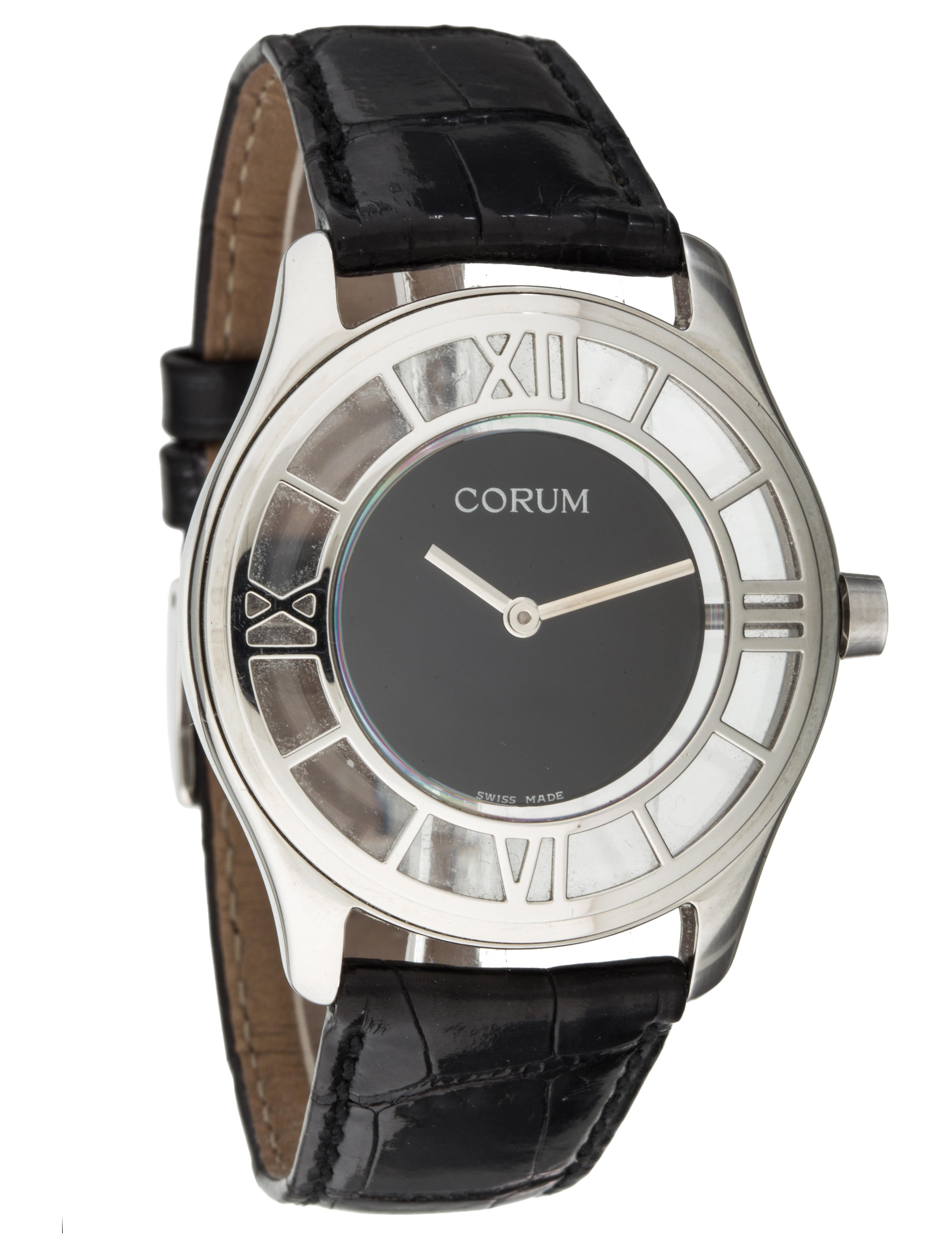 Corum mystere watch strap crm20132 the realreal for Corum watches