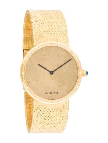 Corum $10 Coin Watch