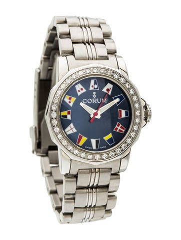 Corum Diamond Admiral's Cup Watch None