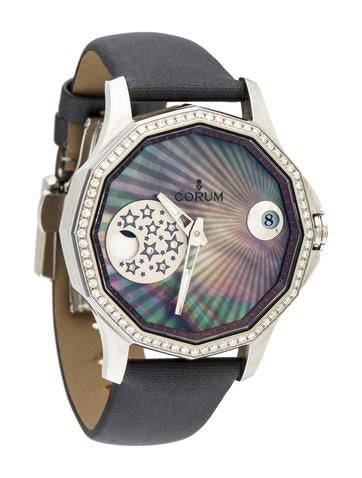 Corum Admiral's Cup Mystery Moon Watch None