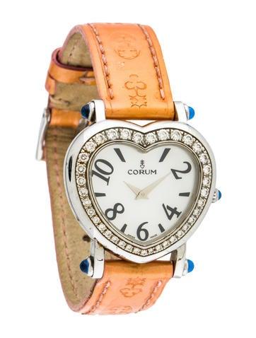 Corum Heart Watch None