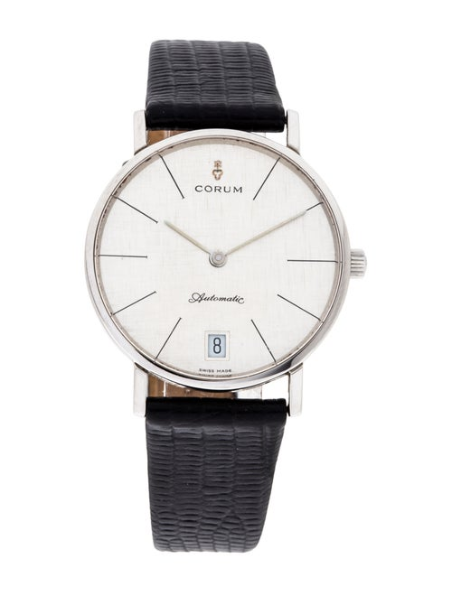 Corum Classic Watch silver