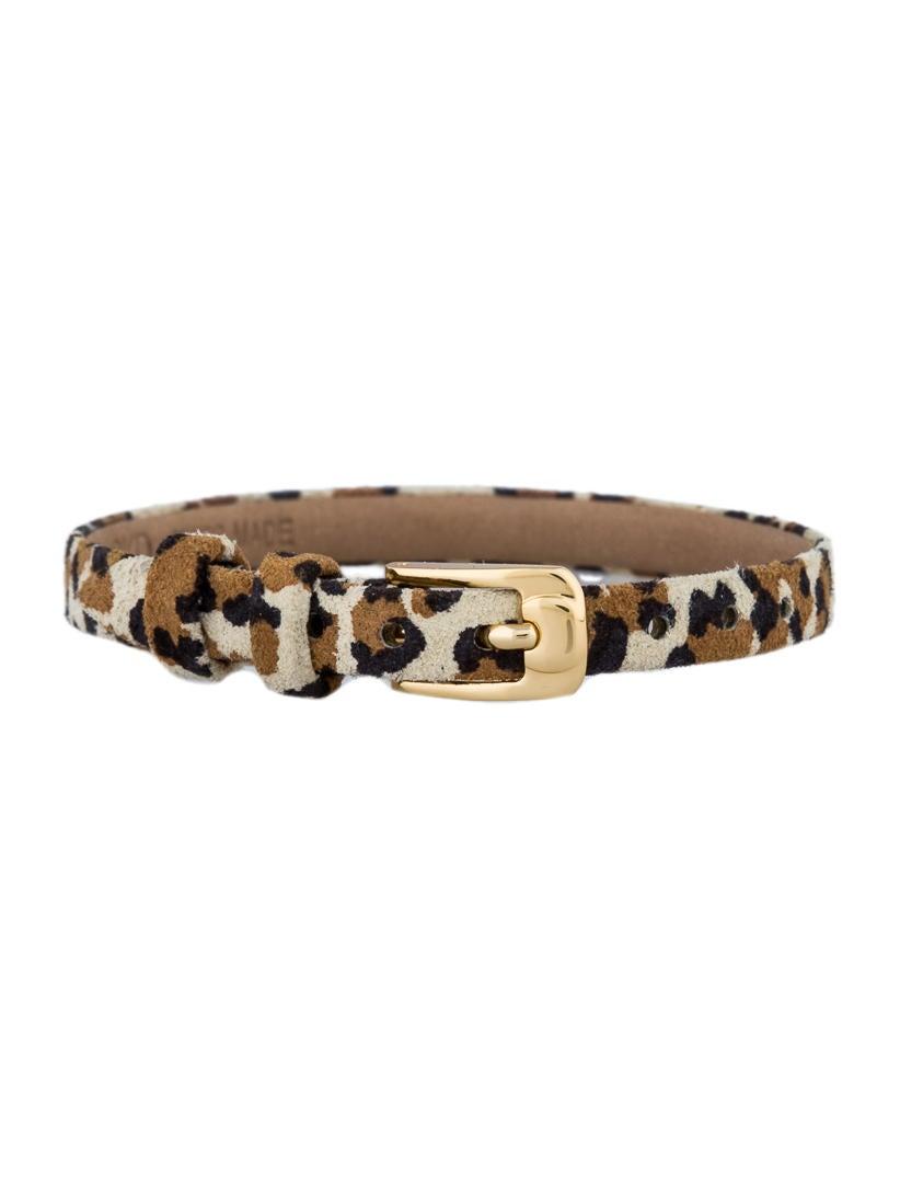 Cartier Leopard Print Bracelet - Bracelets