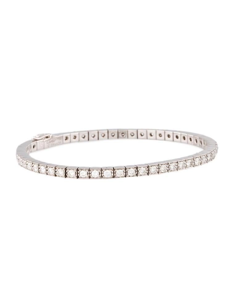 Cartier Lani¨res Diamond Bracelet 2 80 ctw Bracelets CRT