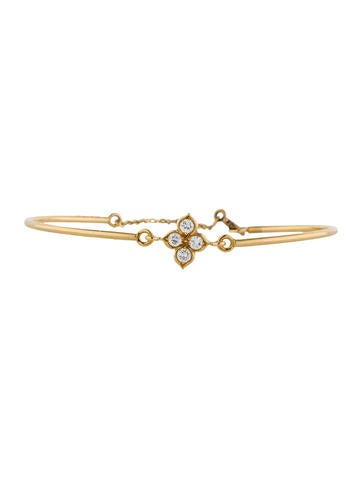 Diamond Quatrefoil Bracelet