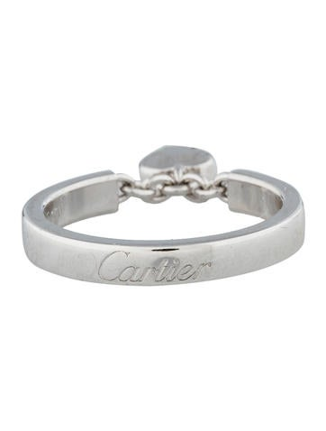 18K Diamond Heart Ring