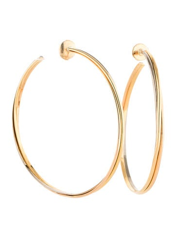 Trinity Hoop Earrings