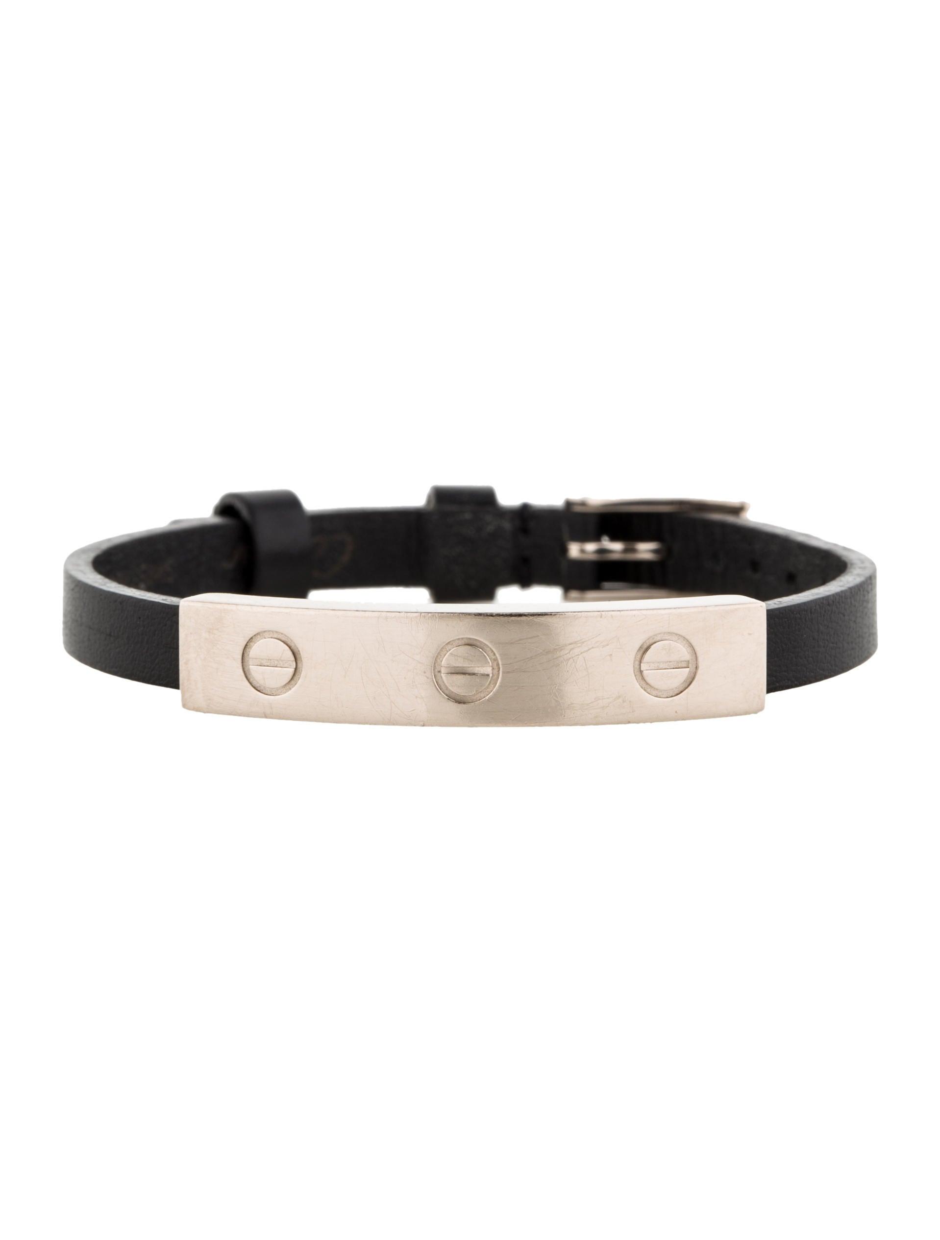 Cartier Leather Love Bracelet Bracelets Crt21438 The