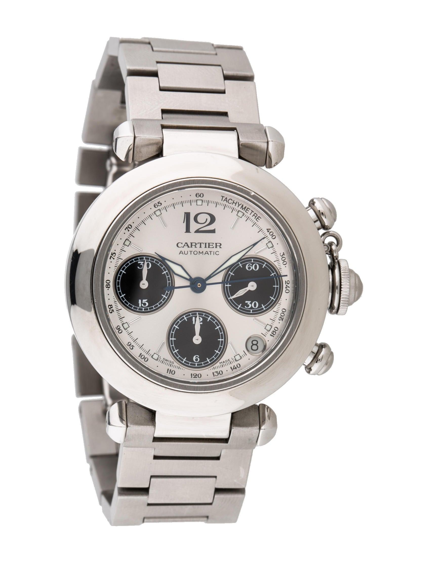 Cartier Pasha De Cartier Chronograph Watch Bracelet
