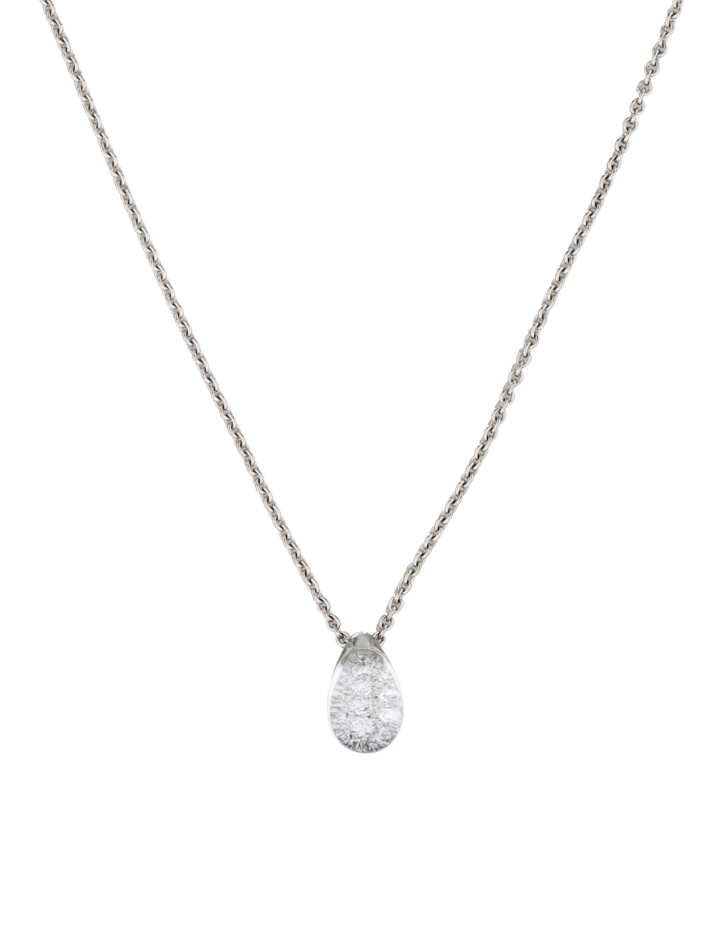 Cartier myst de cartier diamond pendant necklace necklaces myst de cartier diamond pendant necklace mozeypictures Images