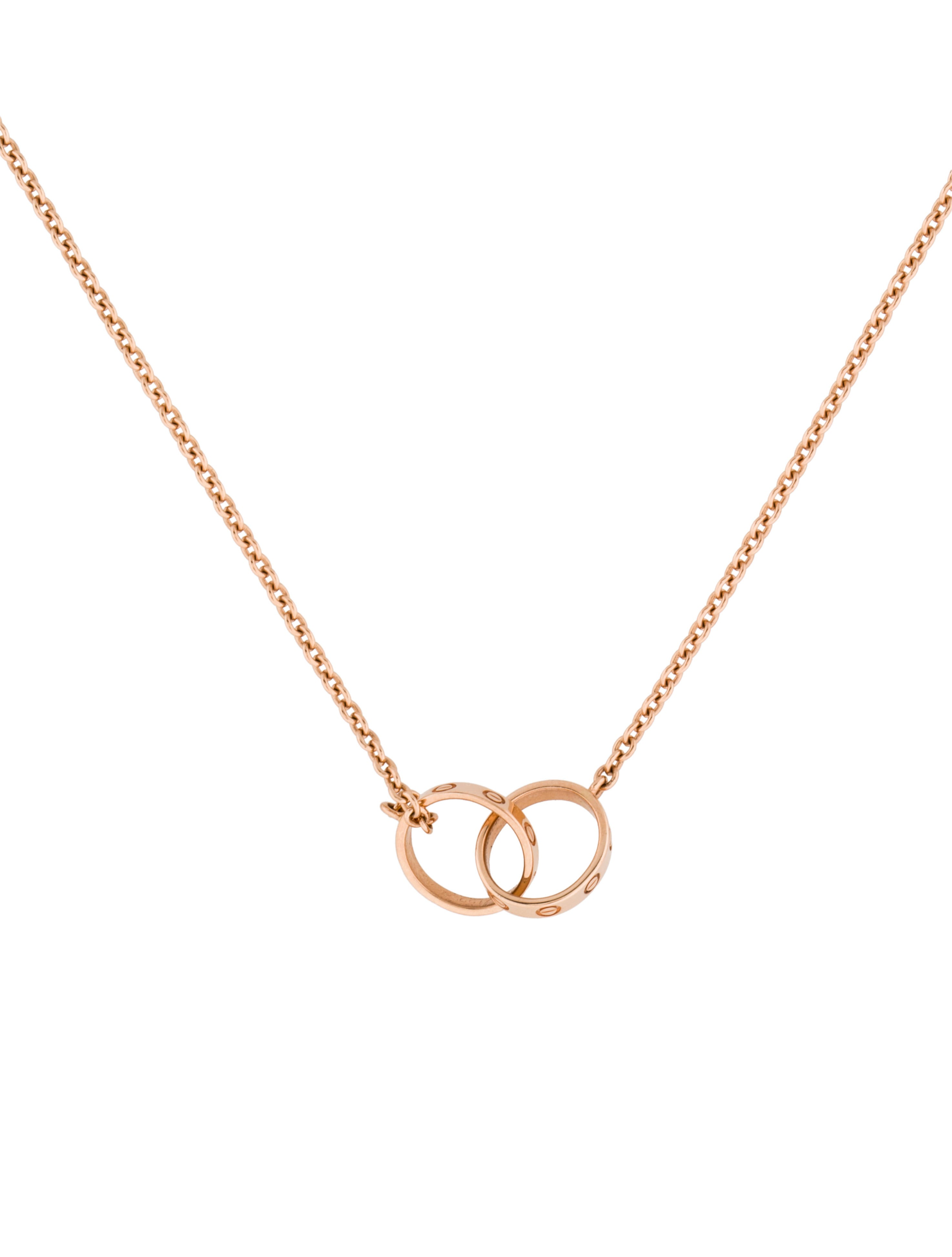 Cartier Love Necklace Necklaces Crt22994 The Realreal