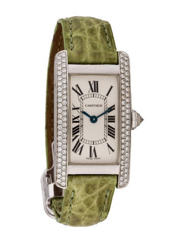 Diamond Tank Américaine 2486 Watch