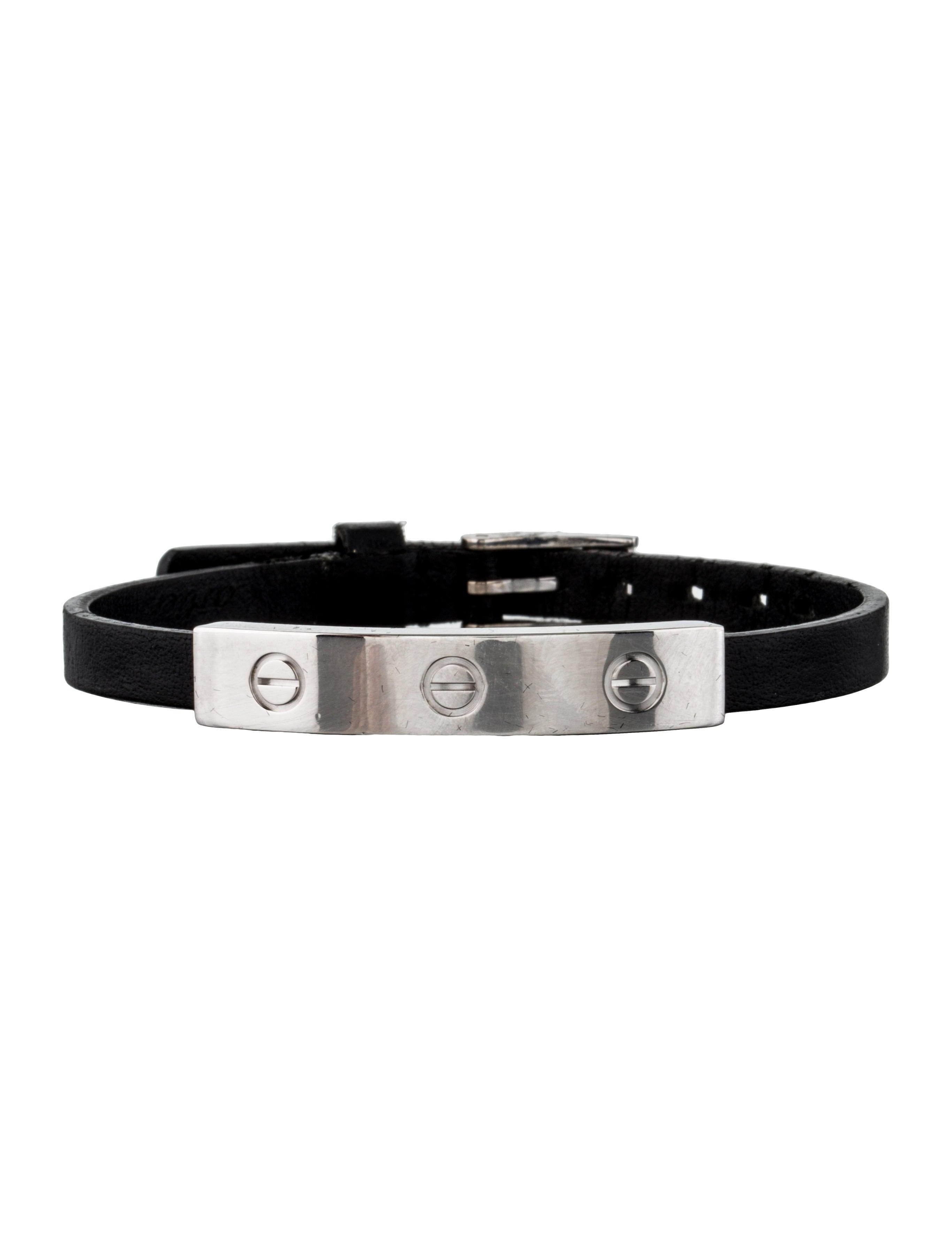 Cartier Leather Love Bracelet Bracelets Crt23874 The