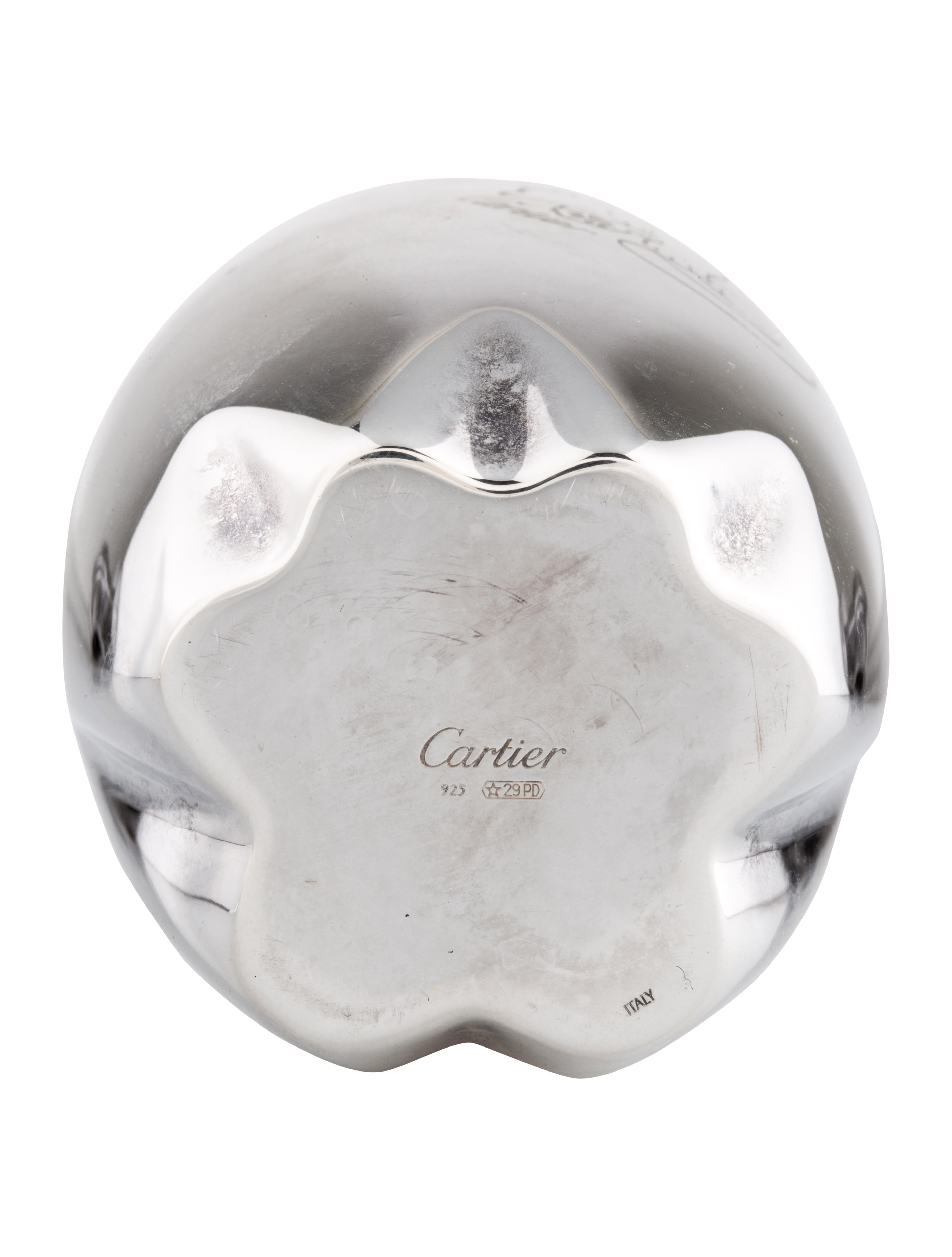Cartier Sterling Silver Baby Cup Toys And Gifts
