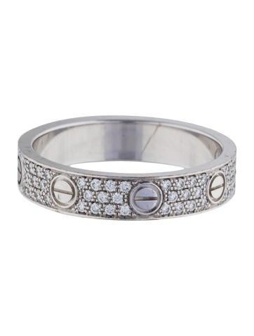 Diamond-Paved Love Wedding Band