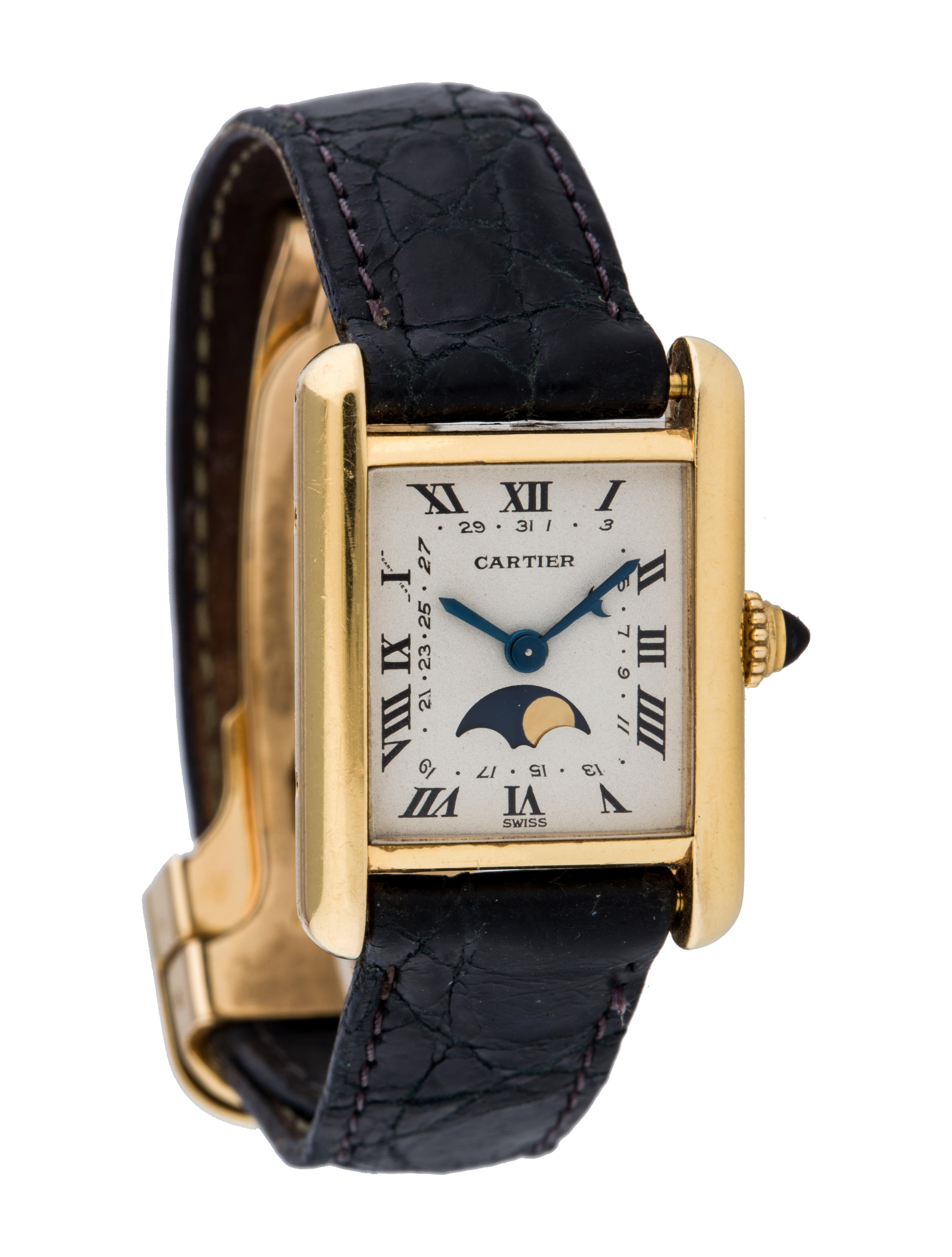 watch cartier louis watches sold tank vintage shop
