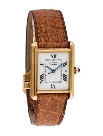 Must de Tank Cartier Watch