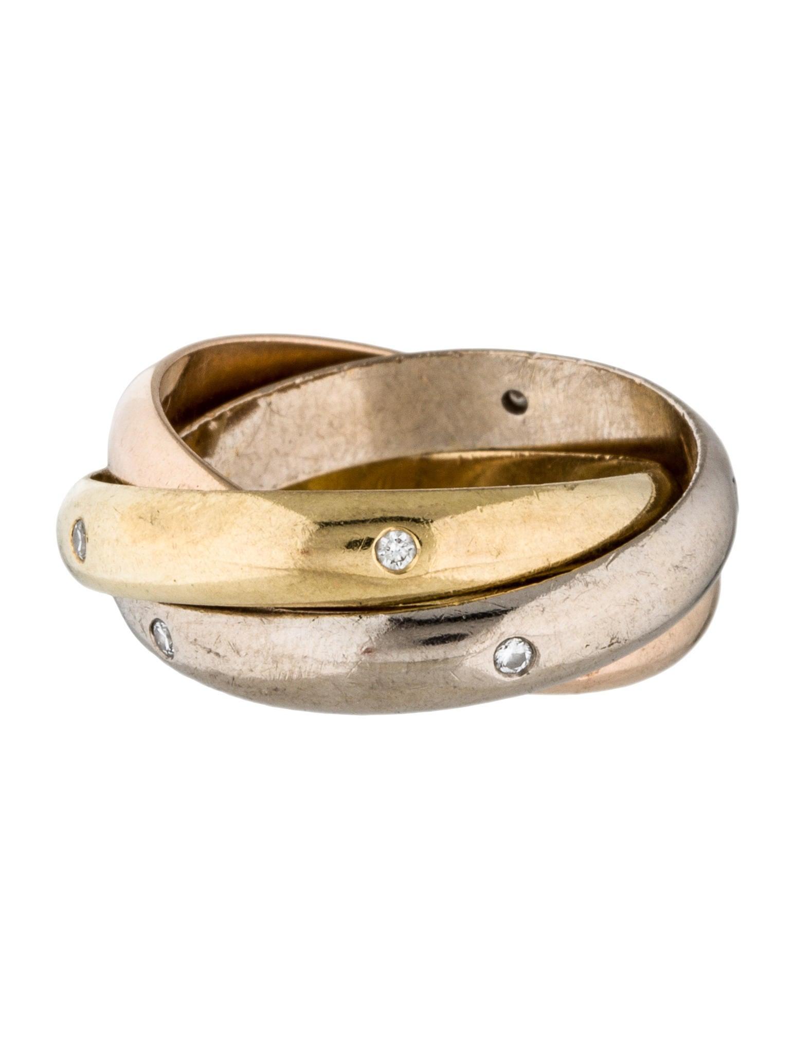 Cartier Trinity De Cartier Diamond Ring Rings Crt27222