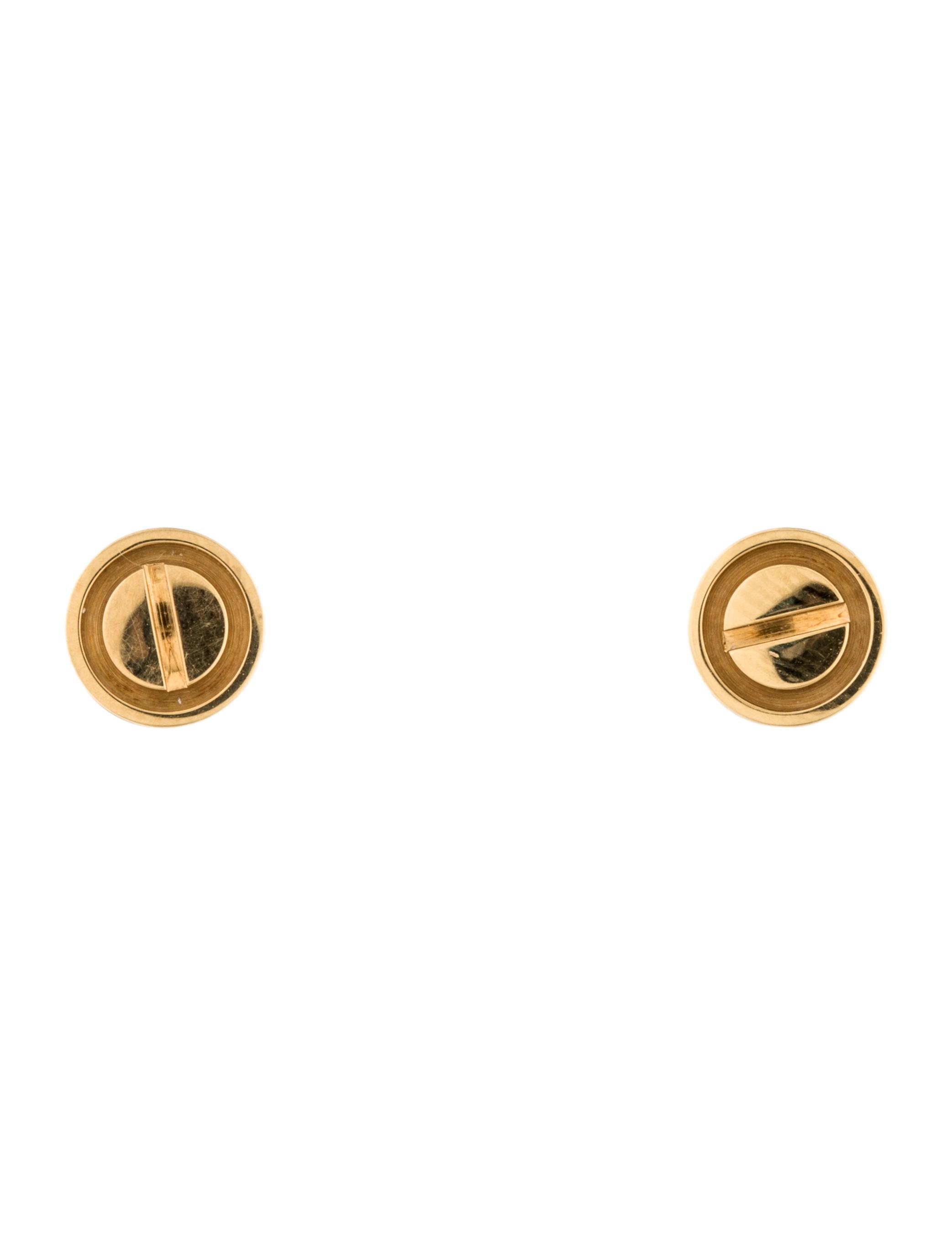 c2a20bd4e78 Cartier LOVE Stud Earrings - Earrings - CRT28883