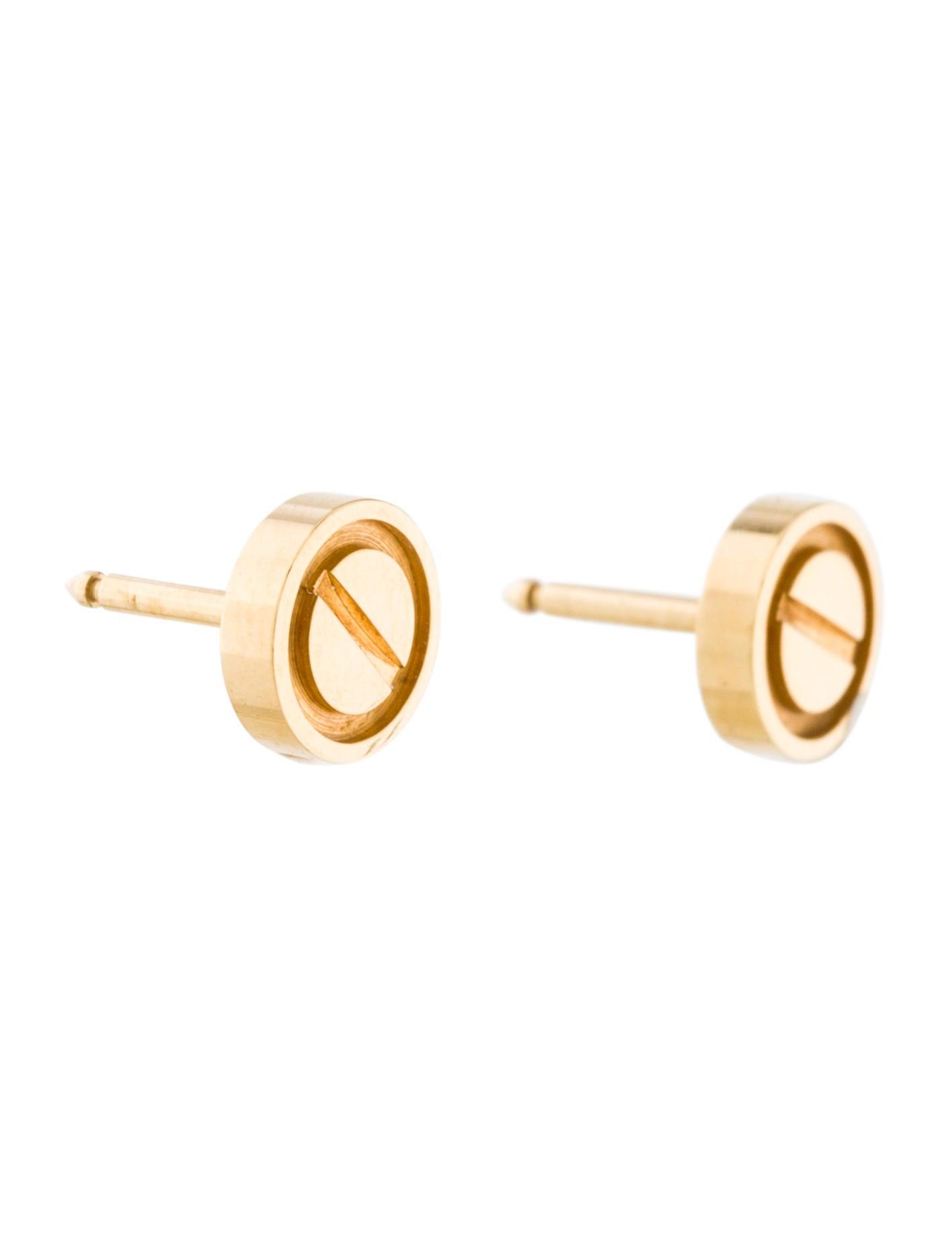 cartier stud earrings cartier style stud earring box