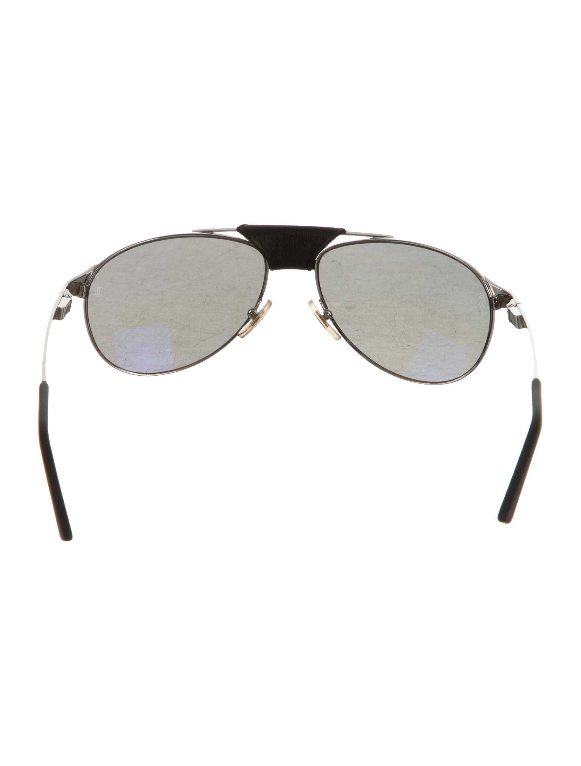 7c7aacfab43 Cartier Edition Santos-Dumont Sunglasses - Accessories - CRT28987 ...