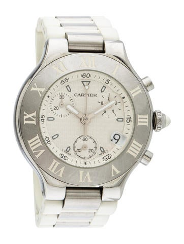 Cartier Must 21 Chronoscaph Watch