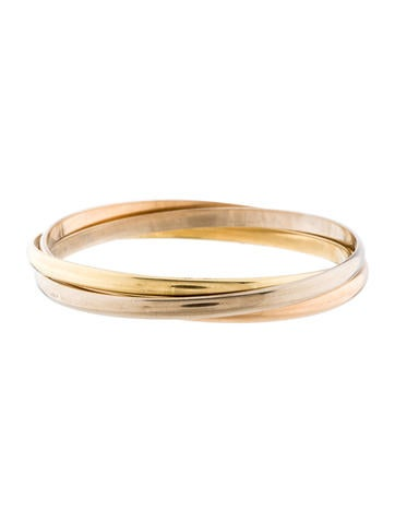 Cartier Trinity Rolling Bangles