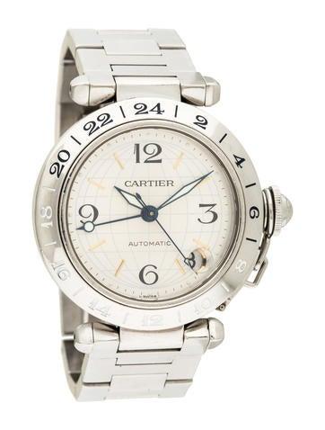 Pasha C GMT Watch