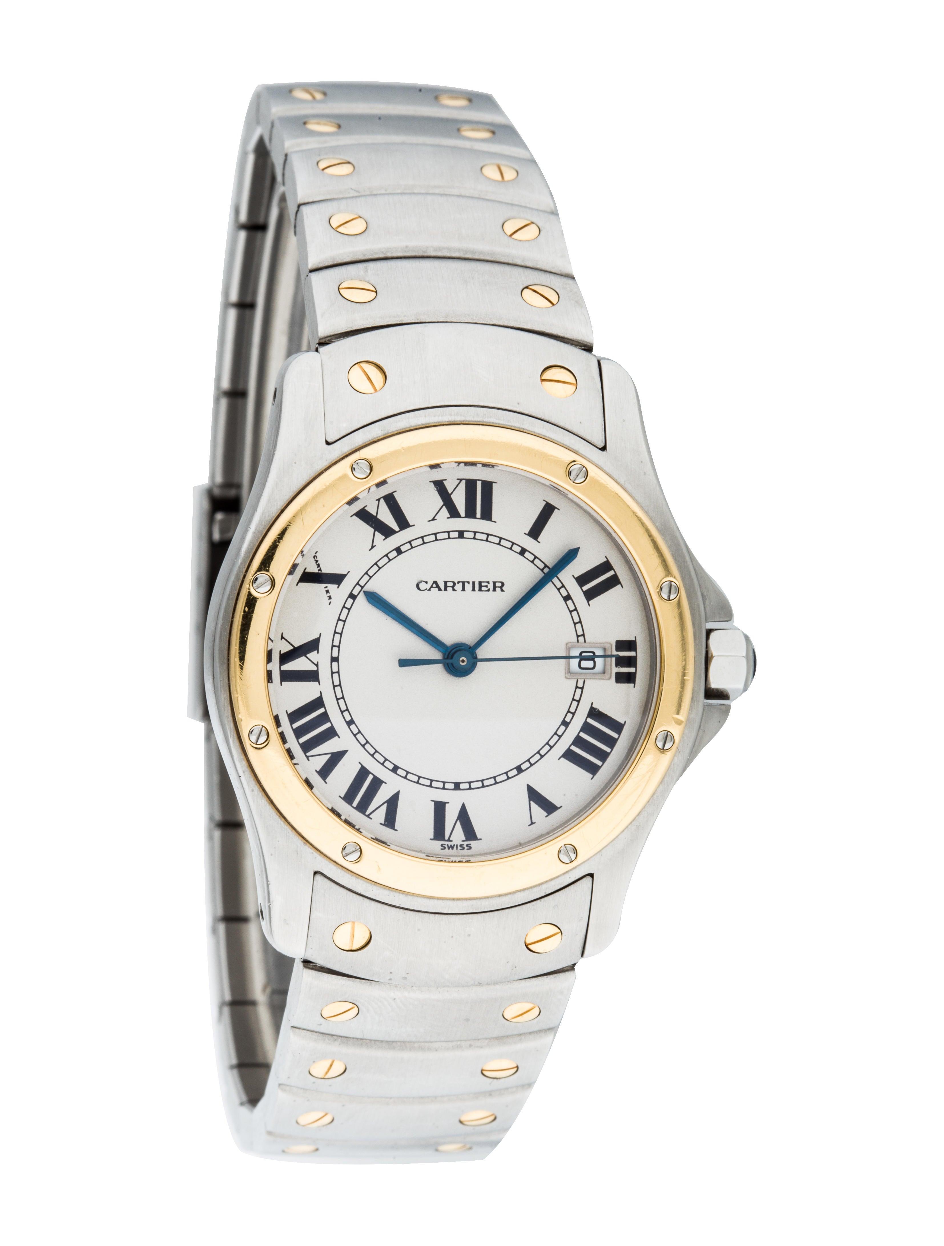 Cartier Santos Ronde Watch - Bracelet