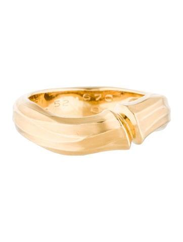 Cartier 18K Bamboo Ring
