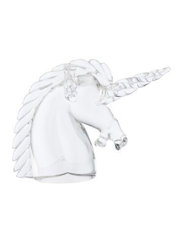 Crystal Unicorn Figurine