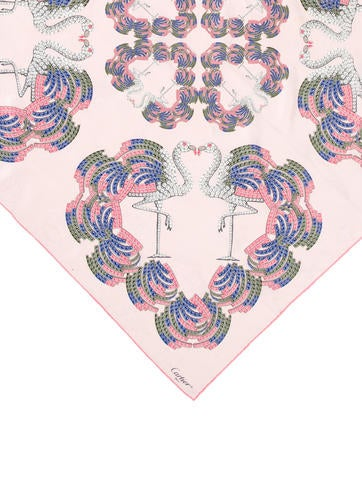 Silk Abstract Scarf