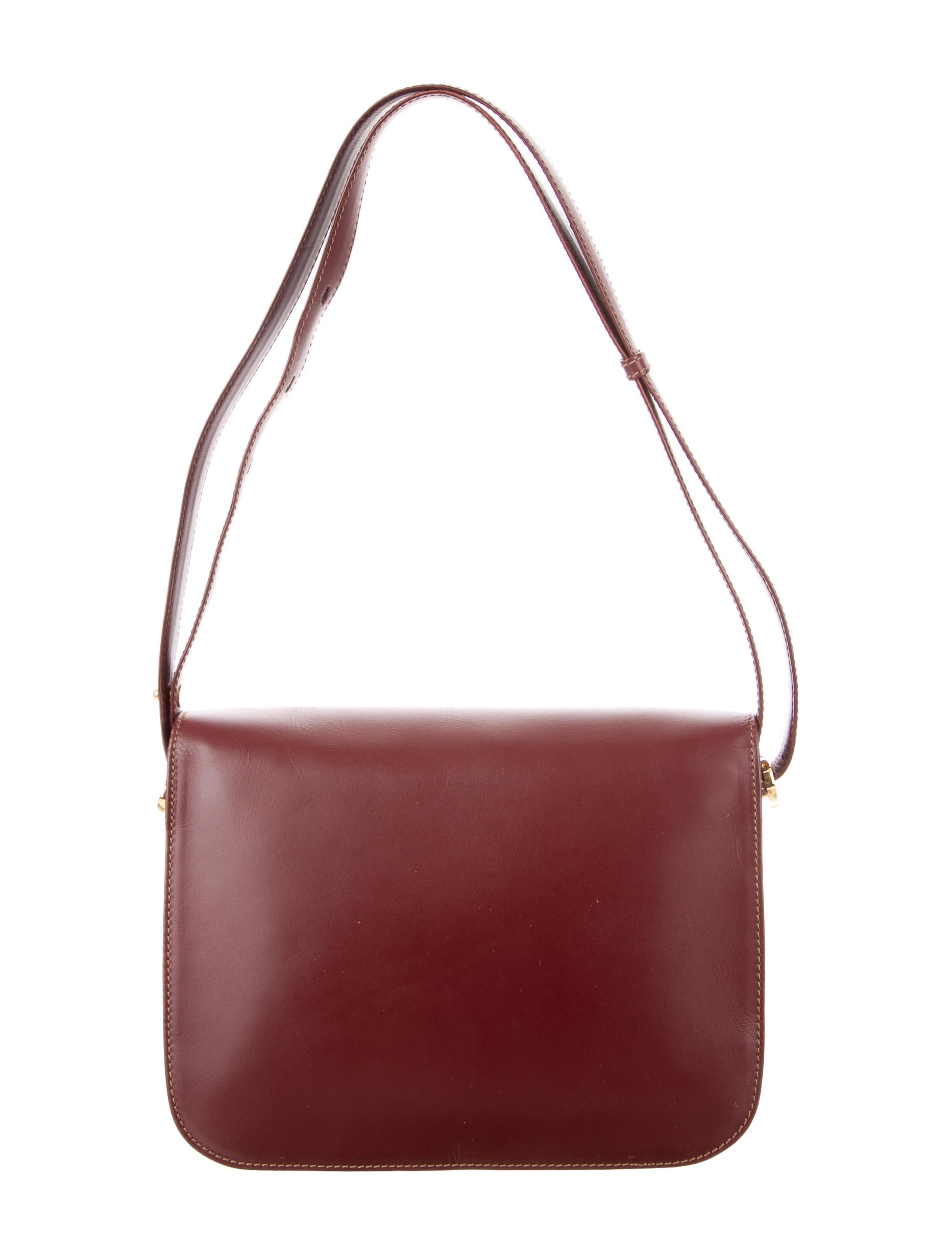 Cartier Leather Shoulder Bag - Handbags - CRT30465 : The RealReal