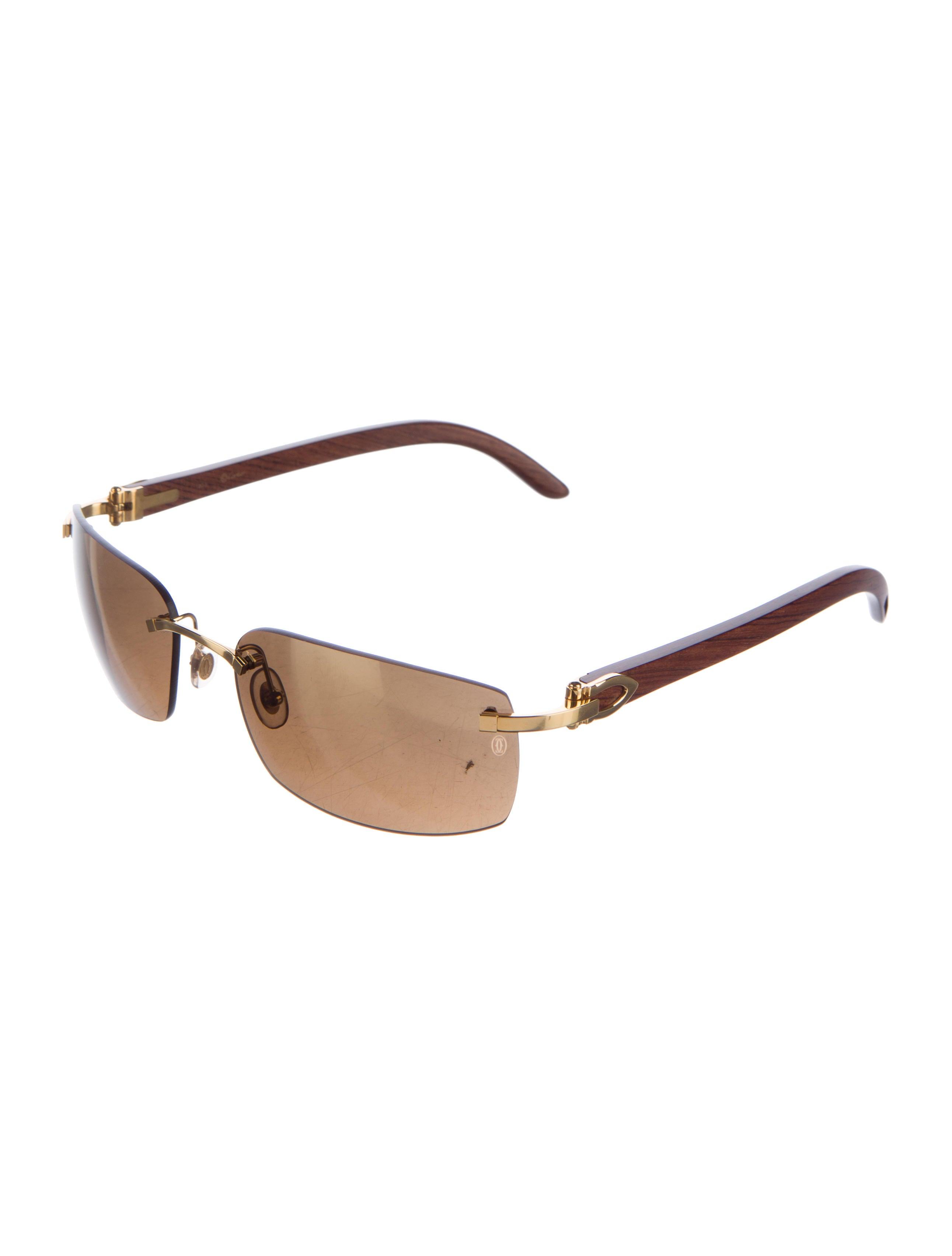 cartier decor c gold-plated sunglasses - accessories - crt30537
