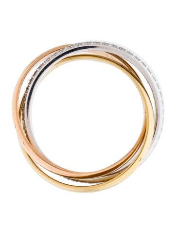 Small Diamond Trinity de Cartier Ring