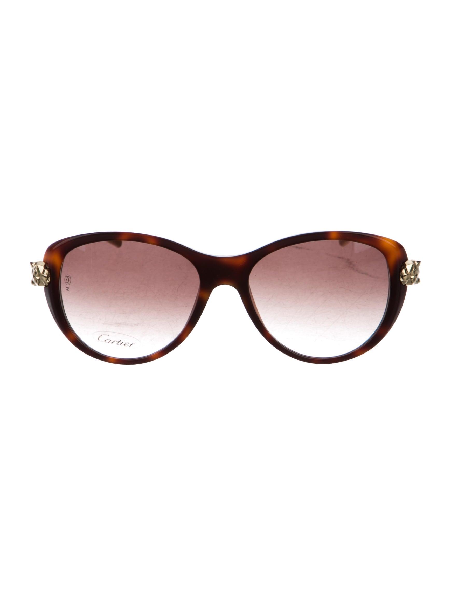 e31c48ce37 Cartier Panthère Wild Cat Sunglasses w  Tags - Accessories ...