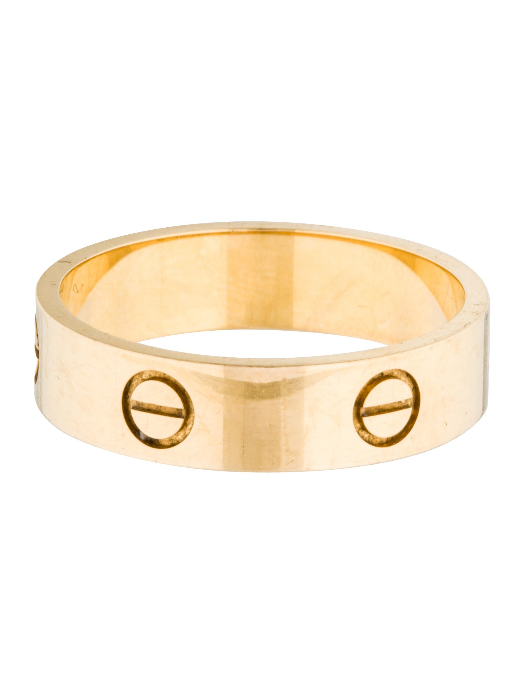 Cartier LOVE Ring - Rings - CRT30977   The RealReal