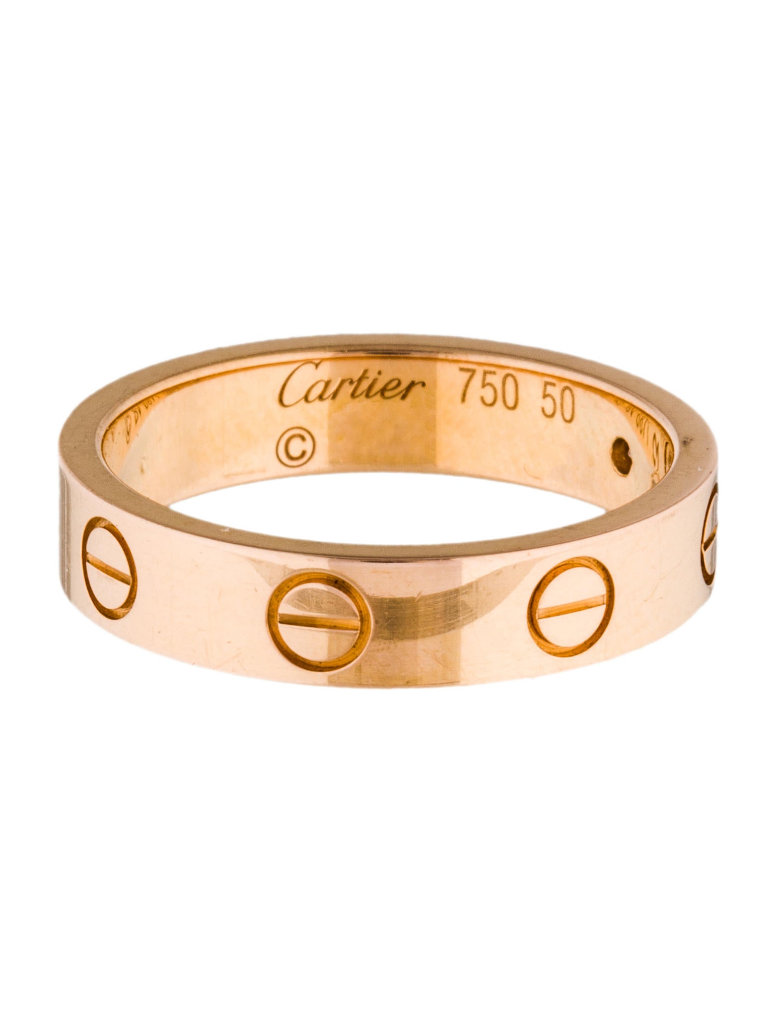 Cartier Diamond LOVE Wedding Band - Rings - CRT31132 | The ...