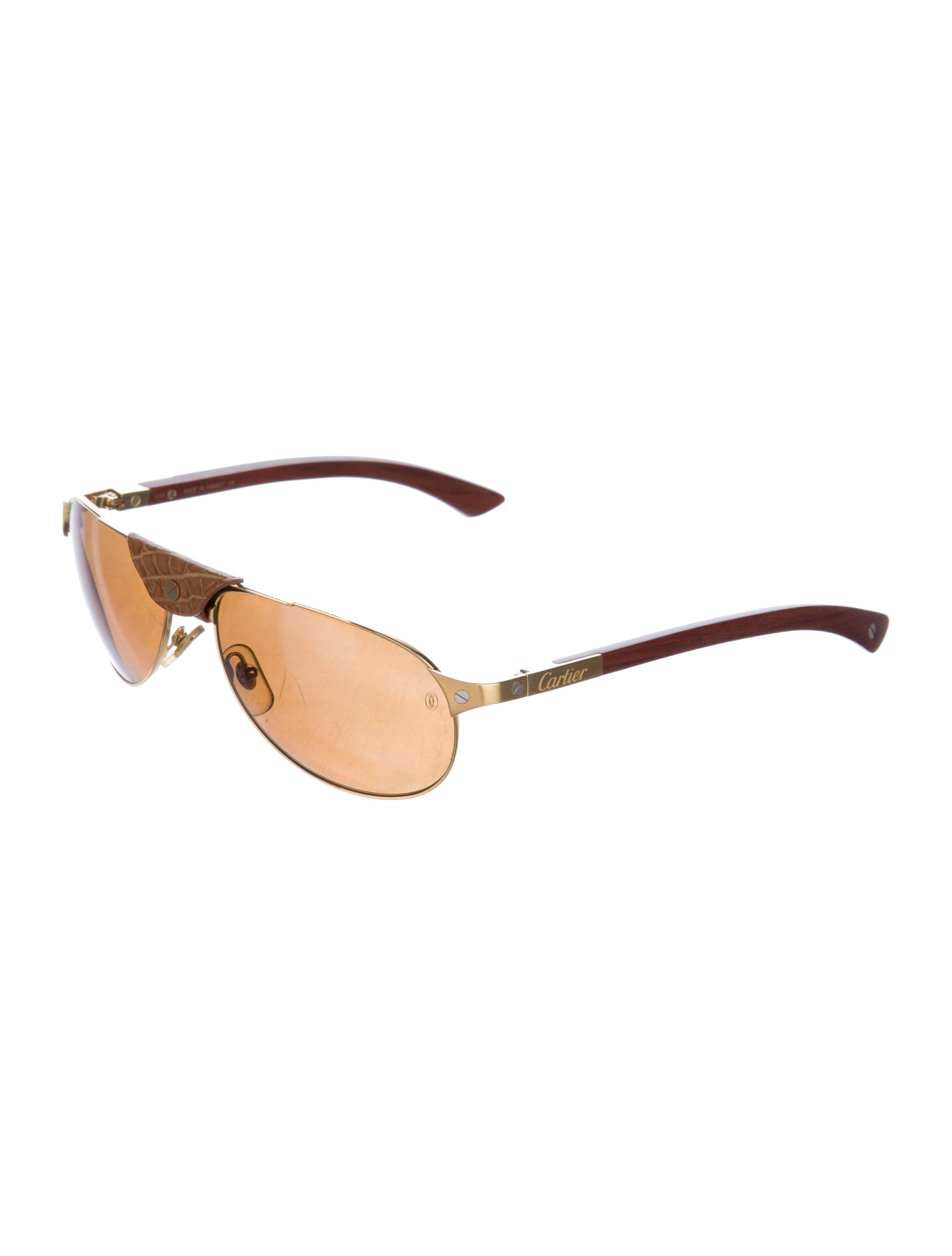 43168be949 Cartier Santos Dumont Sunglasses