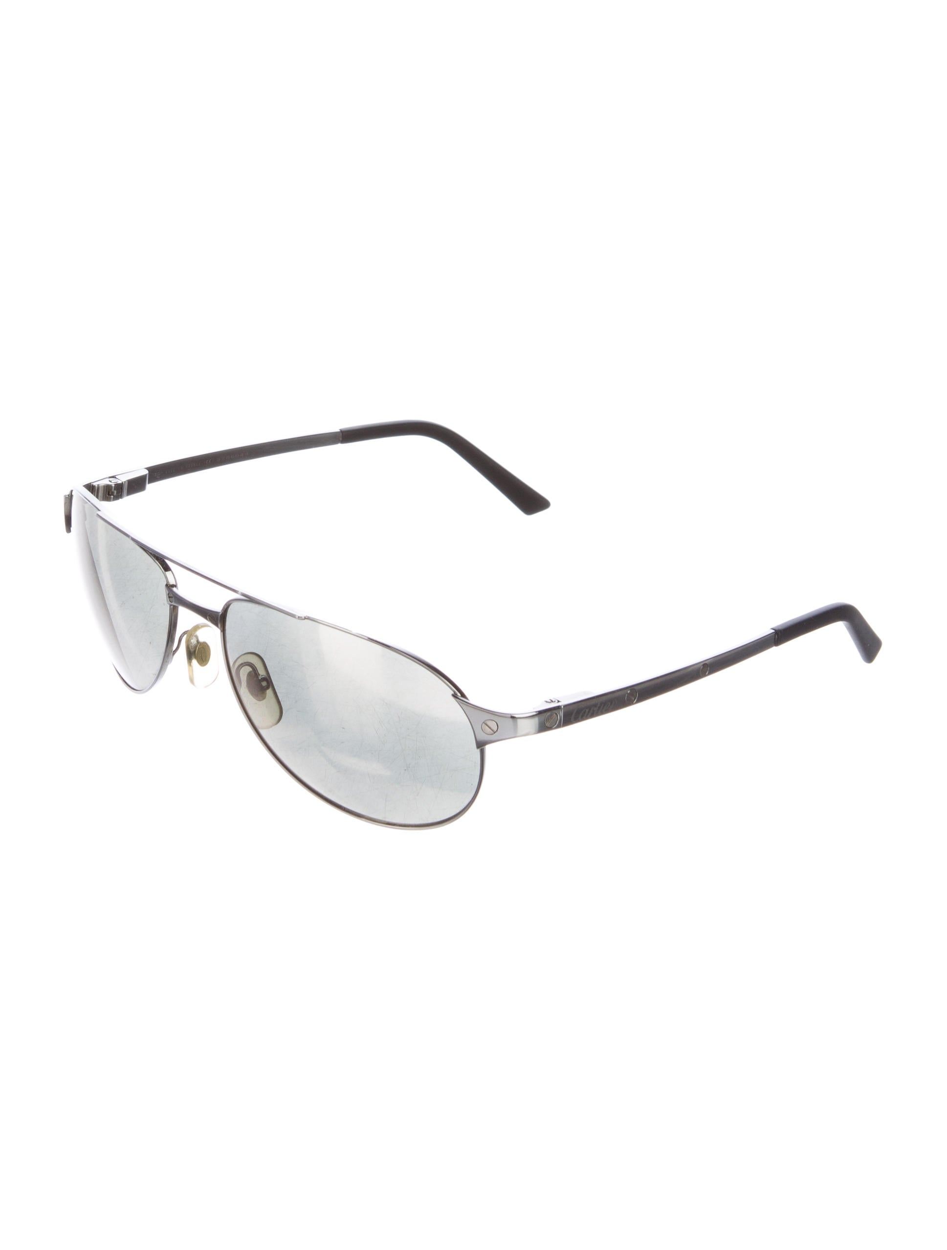 68420d4f1e5 Cartier Aviator Sunglasses Santos Dumont Official Site