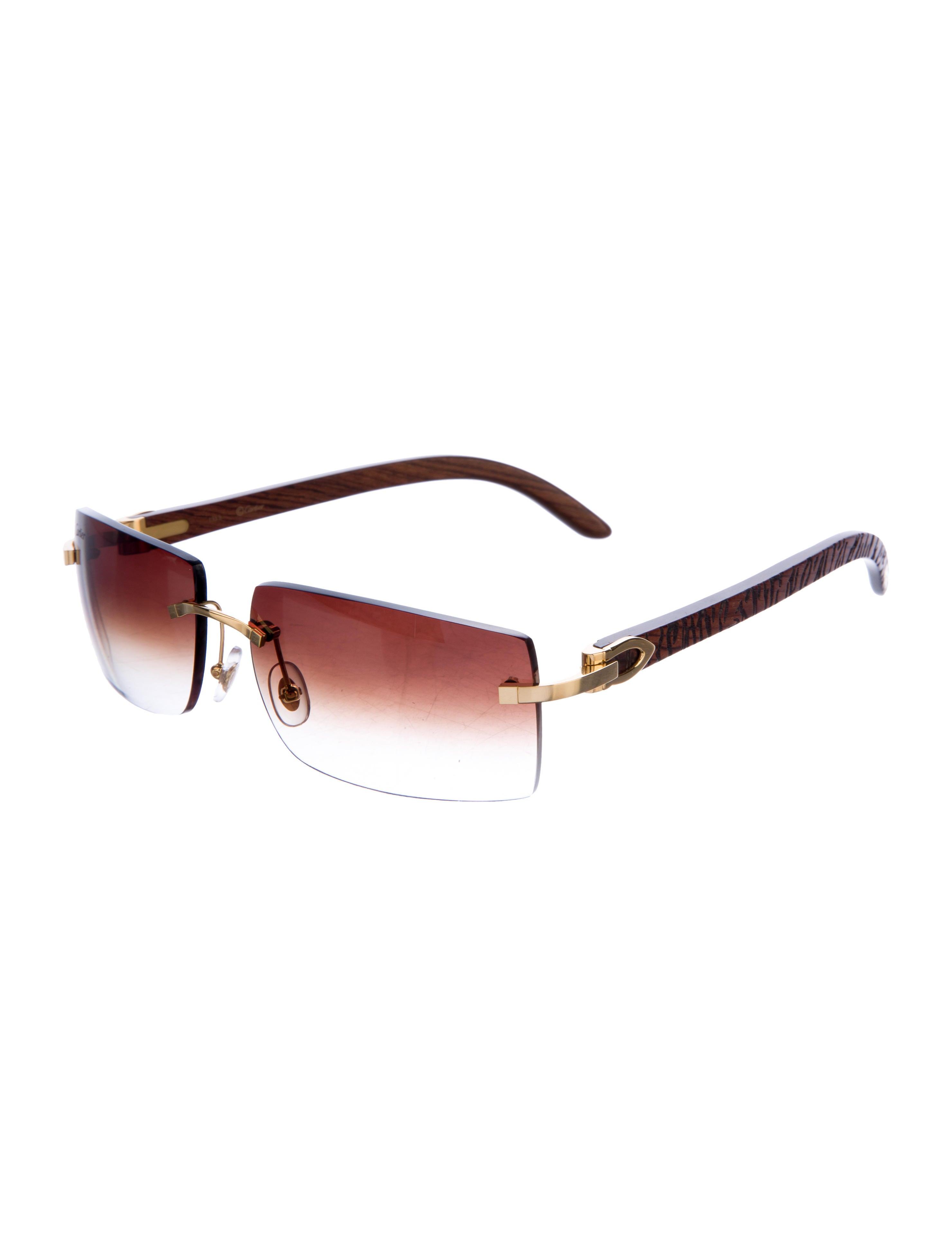 1354734188d Cartier Wood Sunglasses Sale