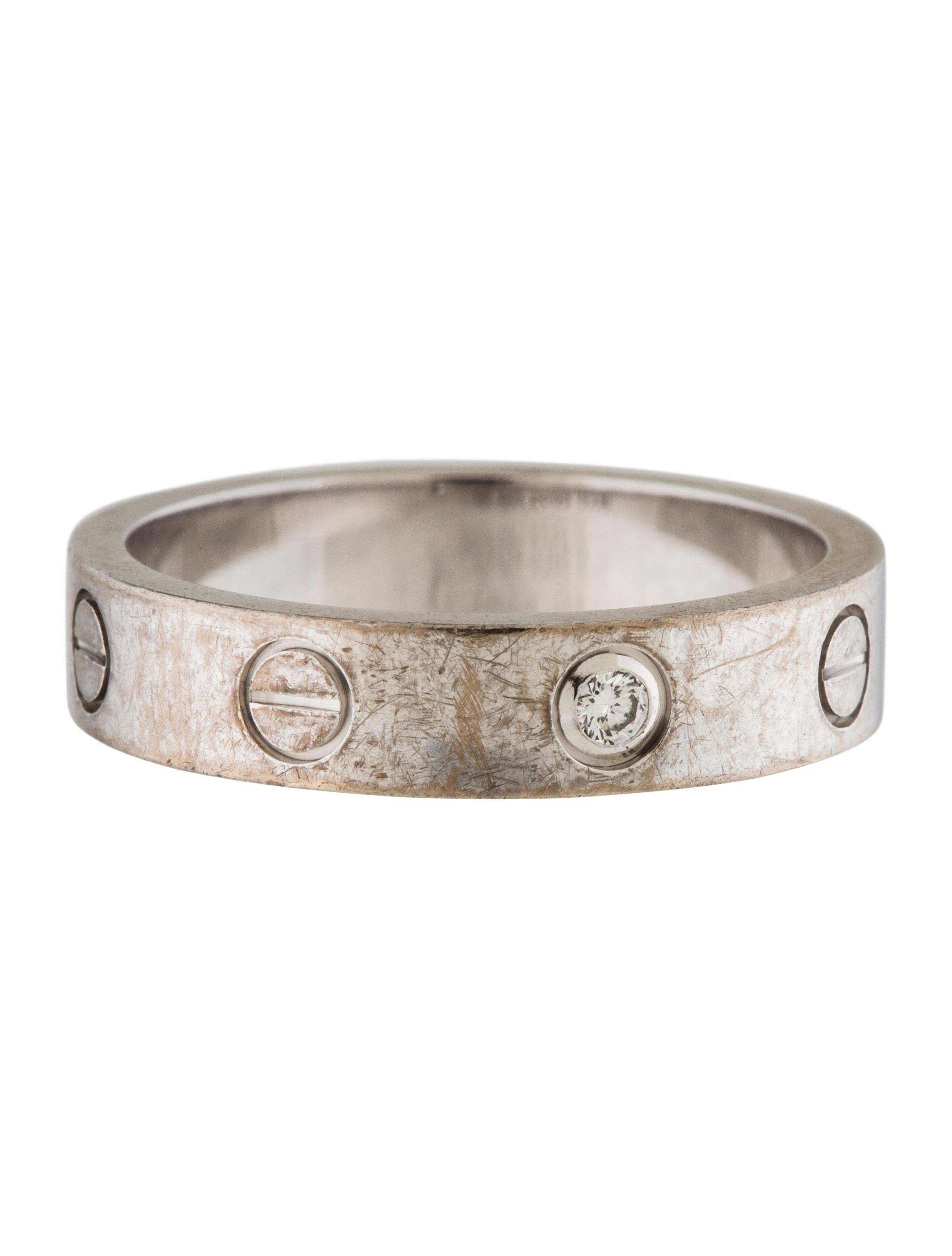 cartier diamond love wedding ring rings crt31716 the