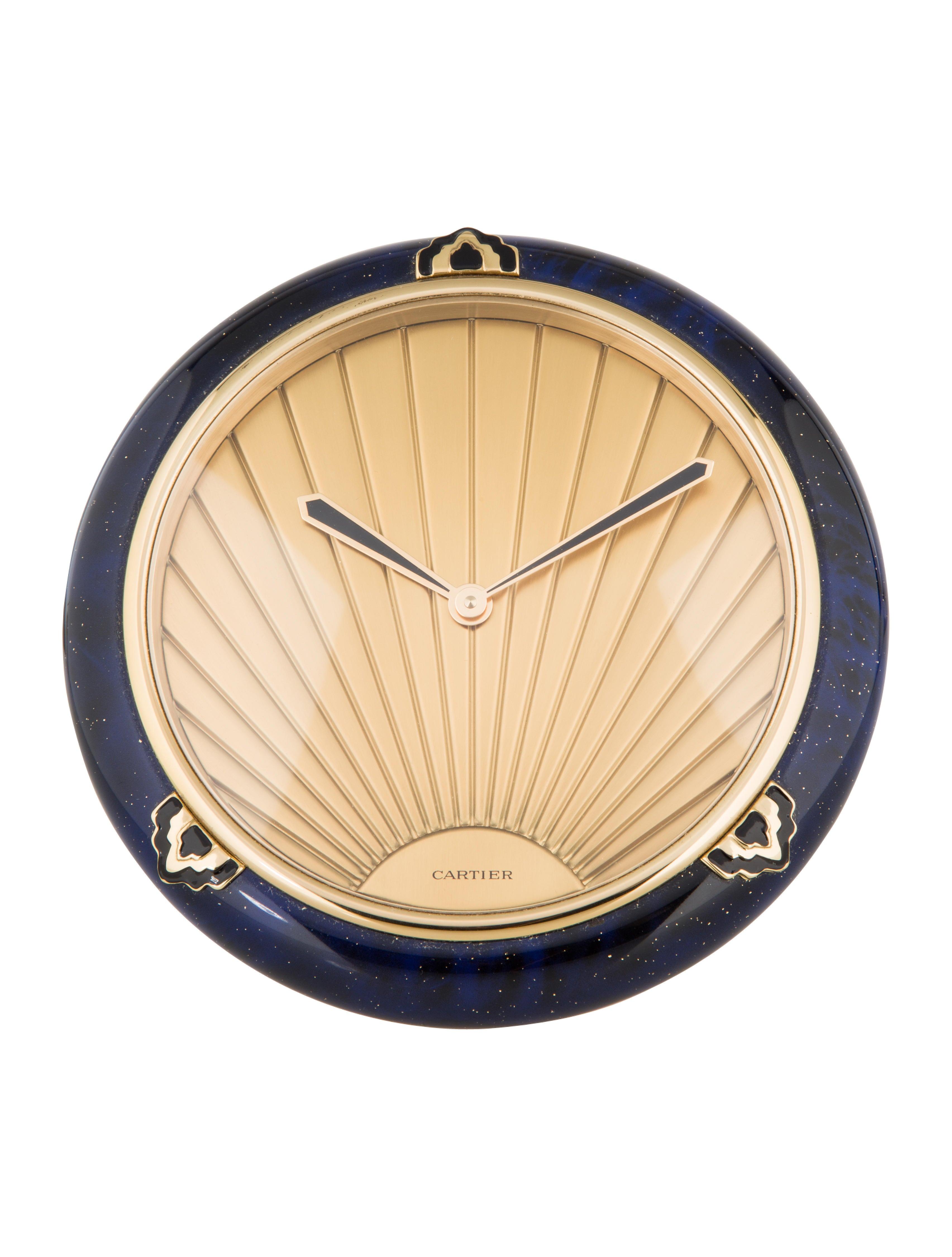Cartier Art Deco Desk Clock Decor Amp Accessories