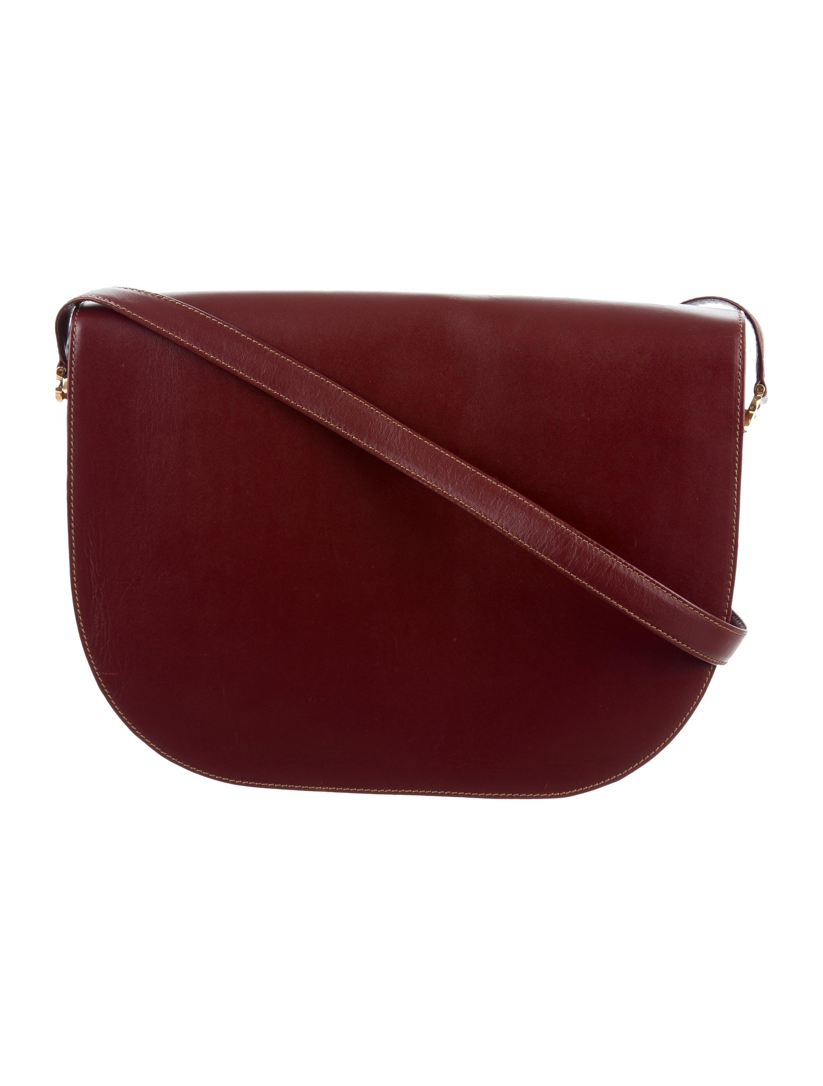 cartier must de cartier messenger bag handbags