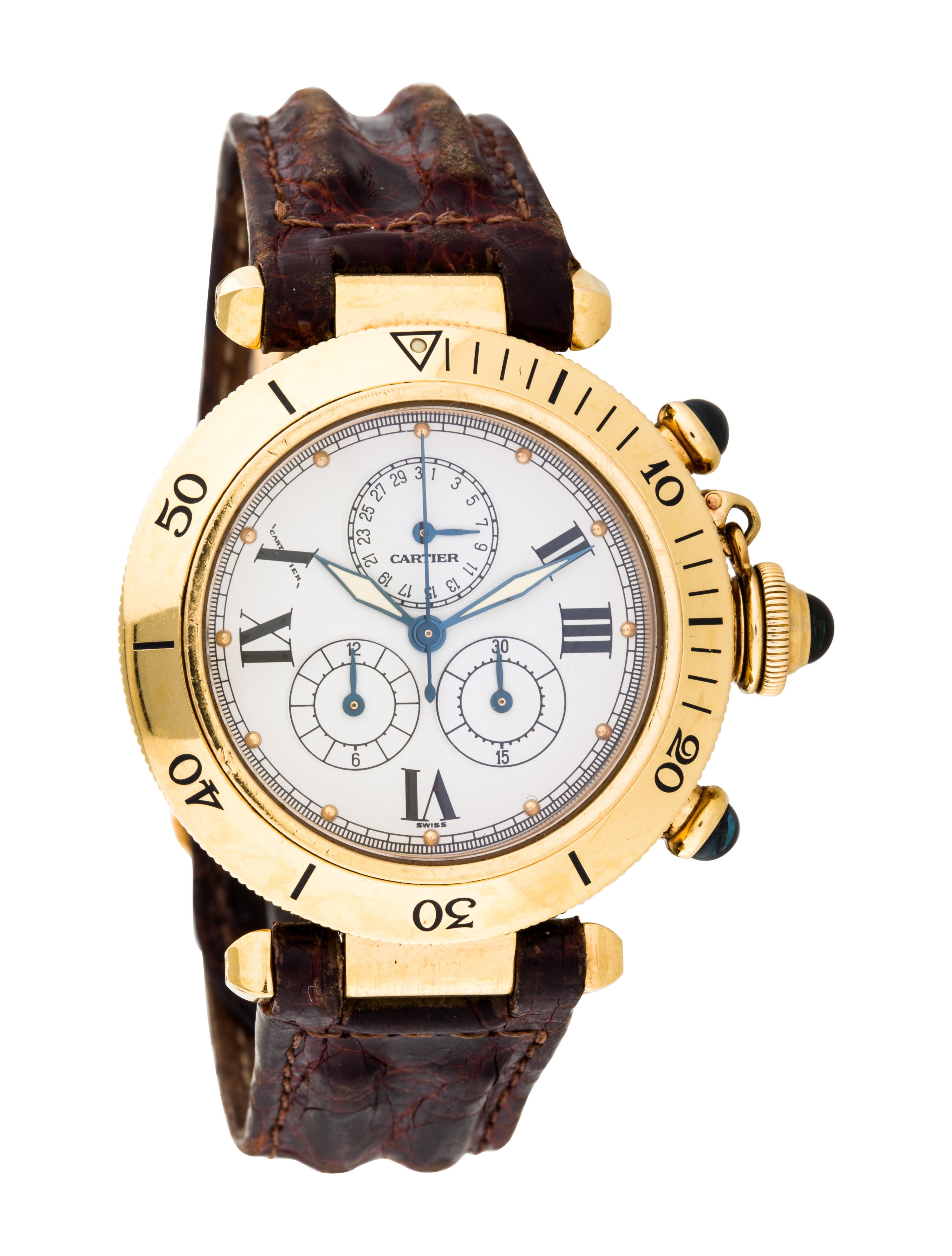 Cartier Pasha De Cartier Watch Strap Crt32213 The